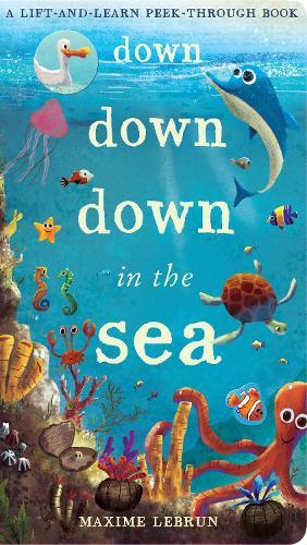 Down Down Down in the Sea: A lift-and-learn peek-through book