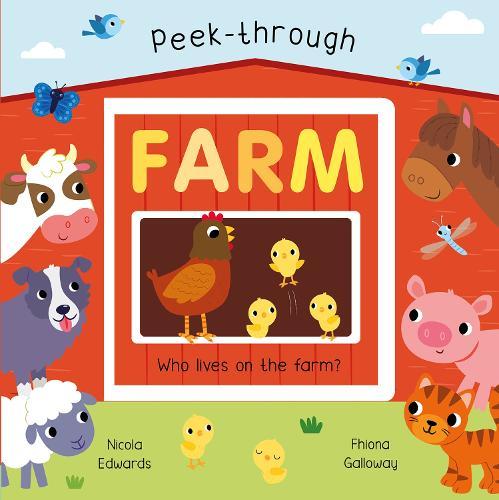 Peek-Through Farm (Board book)