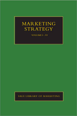 Marketing Strategy - SAGE Library in Marketing (Hardback)