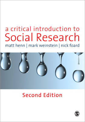 A Critical Introduction to Social Research (Paperback)