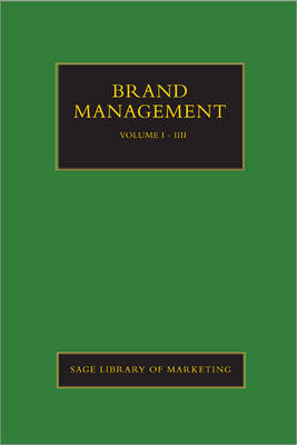 Brand Management - SAGE Library in Marketing (Hardback)