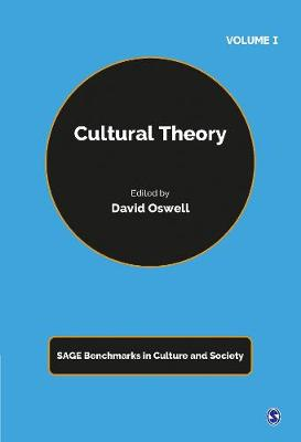 Cultural Theory - Sage Benchmarks in Culture and Society (Hardback)
