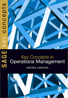Key Concepts in Operations Management - Sage Key Concepts Series (Paperback)