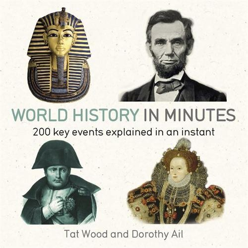 World History in Minutes: 200 Key Concepts Explained in an Instant - In Minutes (Paperback)