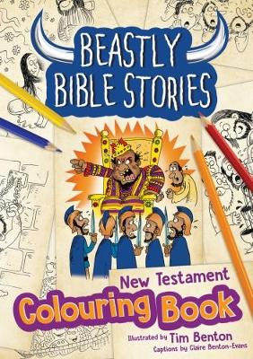 Beastly Bible Stories Colouring Book - New Testament (Paperback)