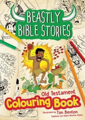 Beastly Bible Stories Colouring Book - Old Testament (Paperback)