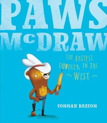 Paws McDraw: Fastest Doodler in the West (Paperback)
