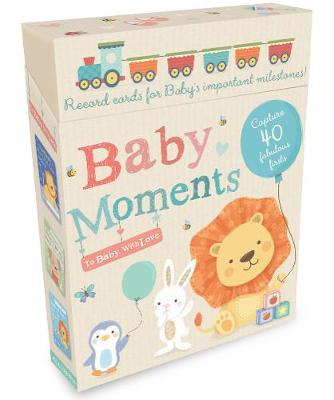 Baby Moments: Record cards for Baby's important milestones! - To Baby With Love