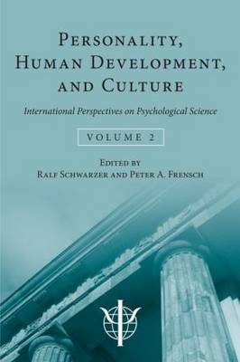 Personality, Human Development, and Culture: International Perspectives On Psychological Science (Volume 2) (Hardback)