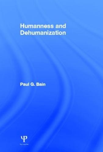 Humanness and Dehumanization (Hardback)