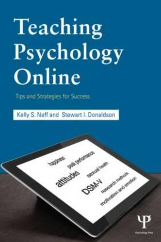Teaching Psychology Online: Tips and Strategies for Success (Paperback)