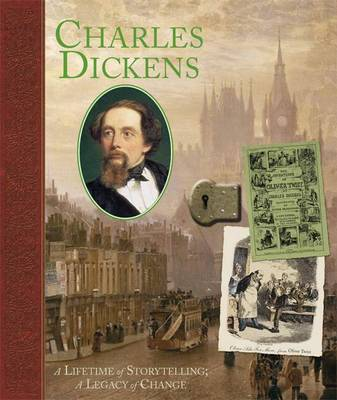 Charles Dickens: A Life of Storytelling; a Legacy of Change - Notebook (Hardback)
