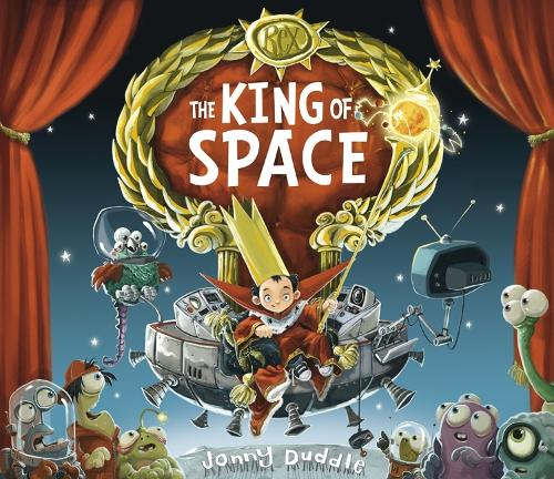 Cover of the book, The King of Space.