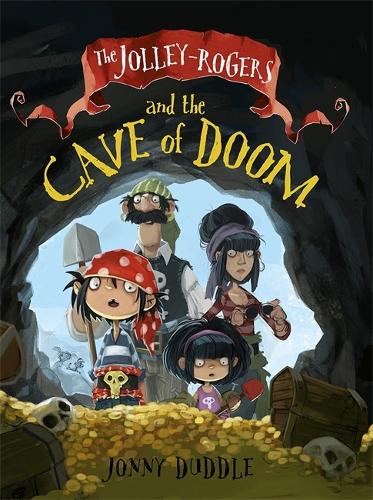 Cover of the book, The Jolley-Rogers and the Cave of Doom.