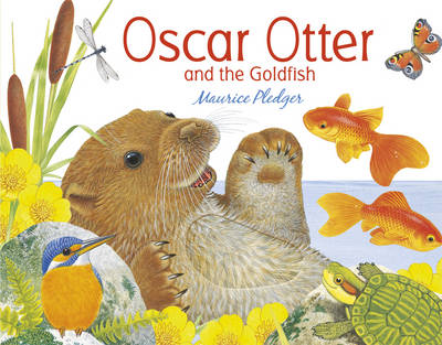 Oscar Otter and the Goldfish (Board book)