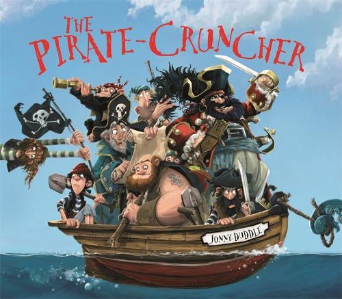 The Pirate Cruncher - Jonny Duddle (Paperback)
