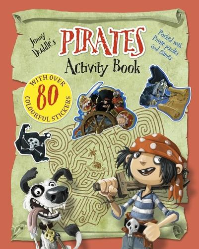 Jonny Duddle's Pirates Activity Book - Jonny Duddle (Paperback)