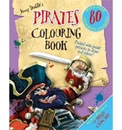 Jonny Duddle's Pirates Colouring Book - Jonny Duddle (Paperback)
