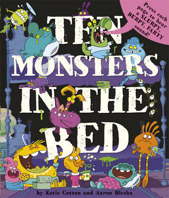 10 Monsters in the Bed (Hardback)