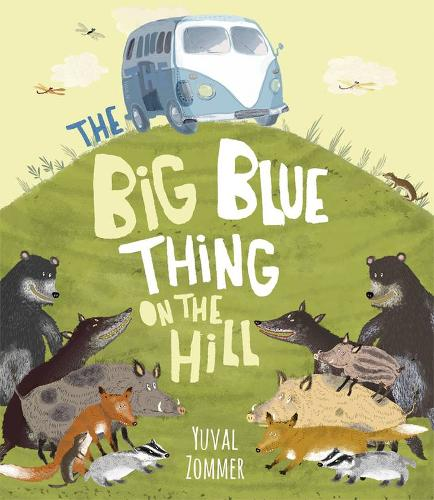 The Big Blue Thing on the Hill (Paperback)