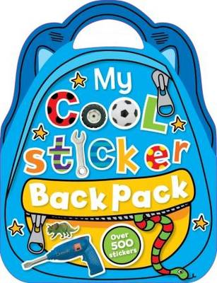 My Cool Sticker Backpack (Paperback)