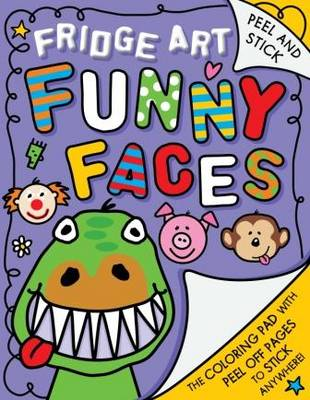 Fridge Art: Funny Faces - Fridge Art (Paperback)