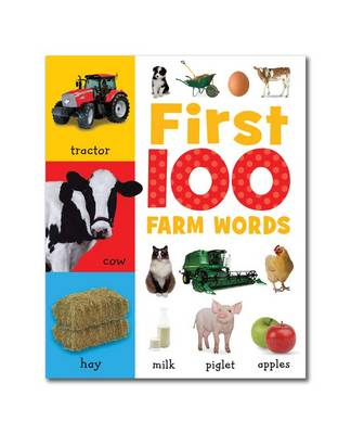 First 100 Farm Words: Mini Board Book - First 100 (Board book)