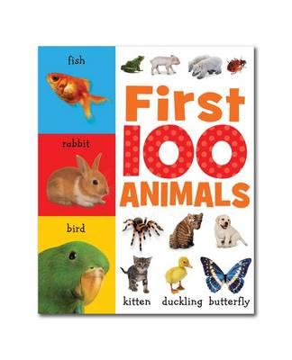 First 100 Animals: Mini Board Book - First 100 (Board book)