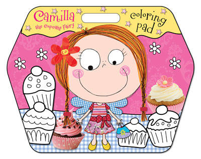 Camilla the Cupcake Fairy Colouring Pad - Camilla the Cupcake Fairy (Paperback)