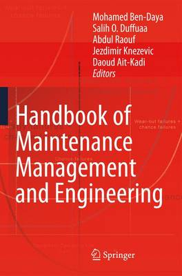 Handbook of Maintenance Management and Engineering (Hardback)
