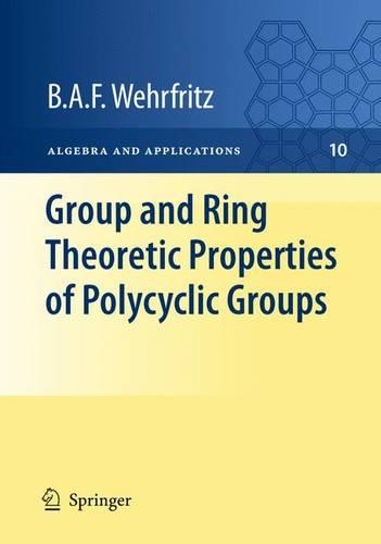Group and Ring Theoretic Properties of Polycyclic Groups - Algebra and Applications 10 (Hardback)