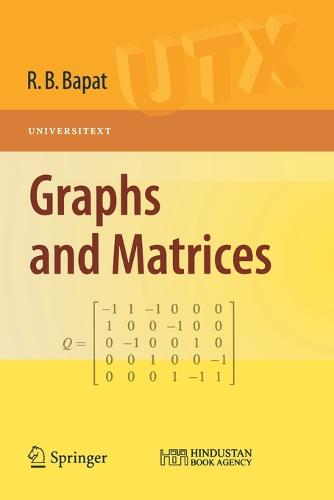 Graphs and Matrices - Universitext (Paperback)
