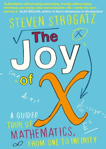 The Joy of X: A Guided Tour of Mathematics, from One to Infinity (Paperback)