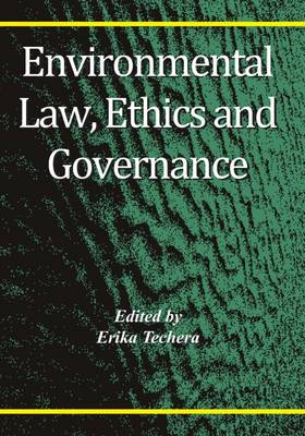 Environmental Law, Ethics and Governance (Paperback)