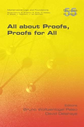 All about Proofs, Proofs for All (Paperback)