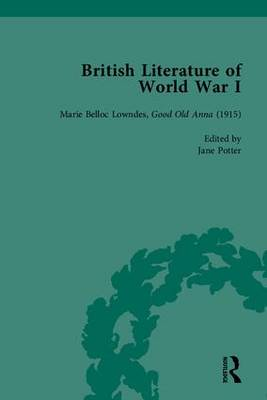 British Literature of World War I (Hardback)