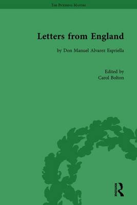 Letters from England: by Don Manuel Alvarez Espriella - The Pickering Masters (Hardback)