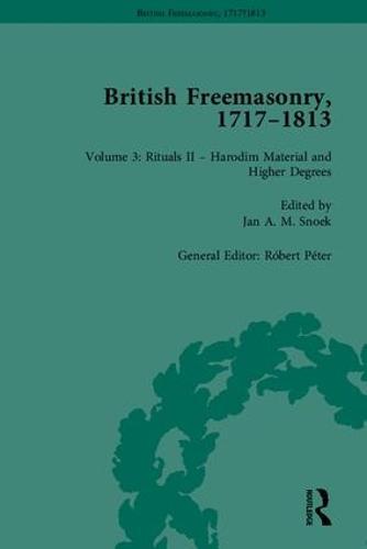 British Freemasonry, 1717-1813 (Hardback)