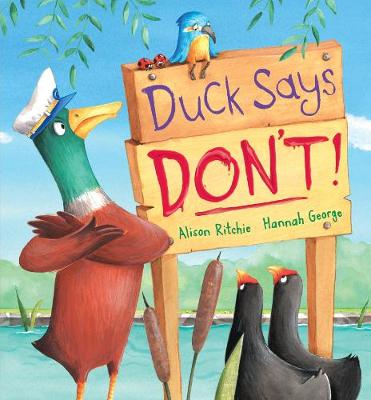 Duck Says Don't! (Hardback)