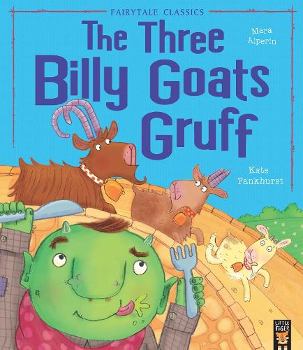 The Three Billy Goats Gruff - My First Fairy Tales (Paperback)
