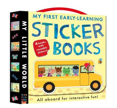 My First Early-learning Sticker Books: Hop on board for interactive fun! - My Little World