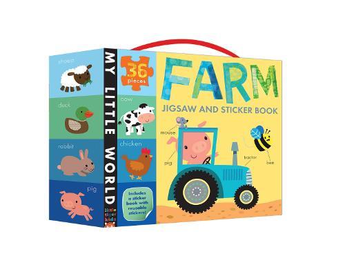 Farm Jigsaw and Sticker Book - My Little World