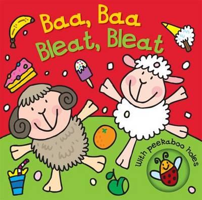 Baa, Baa, Bleat, Bleat - Peekaboo Animals (Board book)