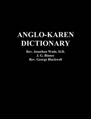 Anglo-Karen Dictionary (Paperback)