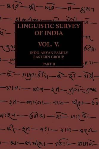 Linguistic Survey Of India Vol V Part II (Paperback)