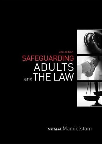 Safeguarding Adults and the Law (Paperback)
