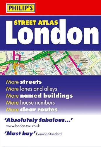Philip's Street Atlas London: Standard Paperback - Philip's Street Atlas (Paperback)