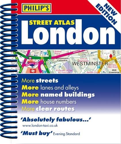 Philip's Street Atlas London: Mini Paperback Edition - Philip's Street Atlas (Spiral bound)