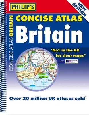 Philip's Concise Atlas Britain: Spiral A5 - Philips Road Atlas (Paperback)