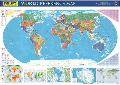 Philip's World Reference Map: Political Edition (Hardback)